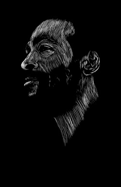blackpoemusic:  Marvin Gaye print