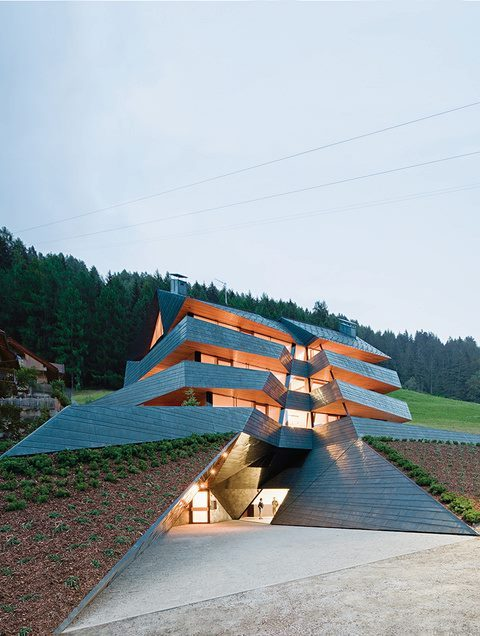 ant-tt:  Copper clad Apartment building in the Dolomites