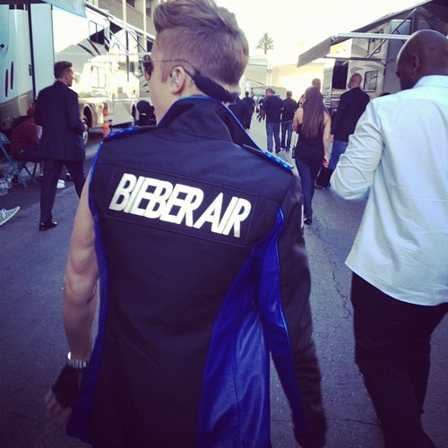 bieber-news-ita:  @karlawelchstylist: Ready for Take Off