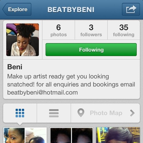 Follow my business page guys @beatbybeni not many know but I do make up. If u need a hook up get at me. Open for bookings.