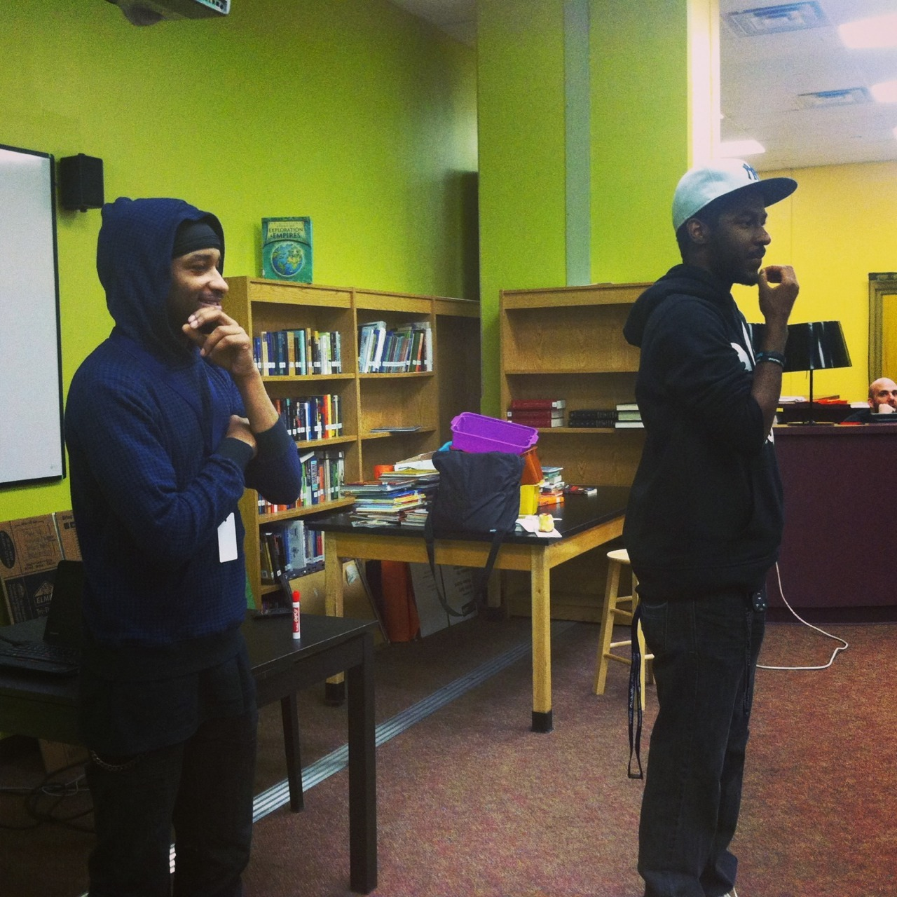 Today with the youth at RAPCS #lindoyes and #marquistst perform and inspire!