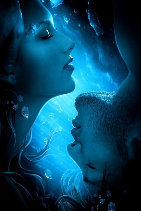artmonia:  Blue Love by Elena Dudina.