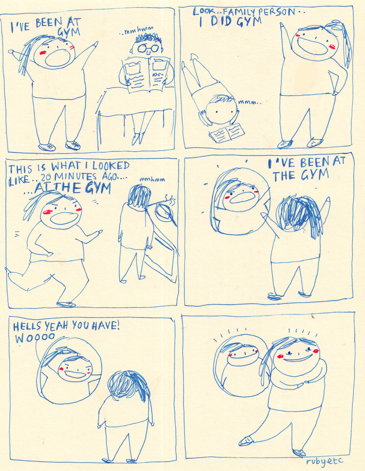rubyetc:  This is a drawing about exercise