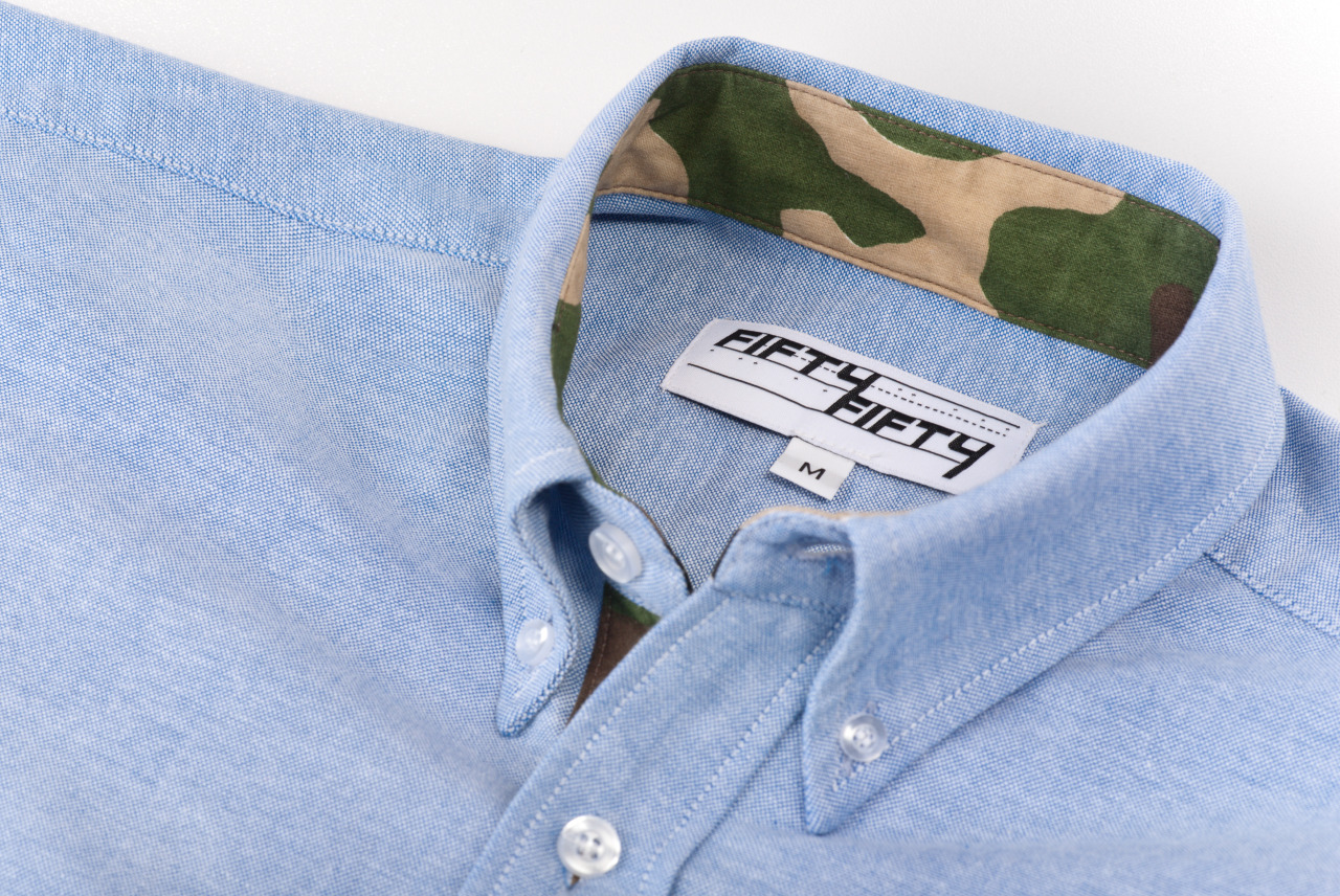 5050supplyco:  For a limited time only, all camo-lined oxford shirts are on sale! Check it out HERE  zero excuses now…