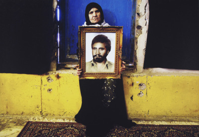 "arabious:  Jadaliyya reviews ""Light From the Middle East: New Photography,"" an exhibition at the Victoria and Albert Museum in London. (Photo by Newsha Tavakolian, from the ""Mothers of Martyrs"" series)"