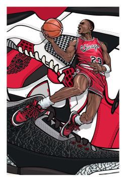 eighty4cartel:  Jordan - Artwork Poster
