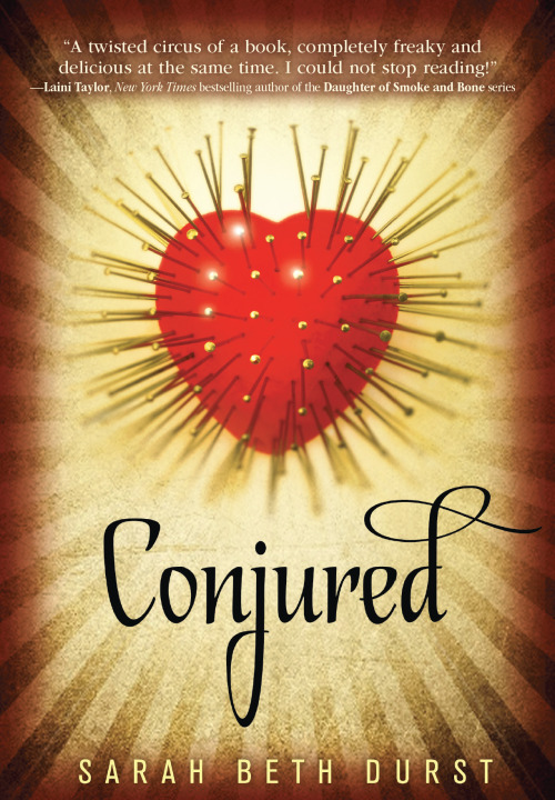Cover Art Reveal: CONJURED
