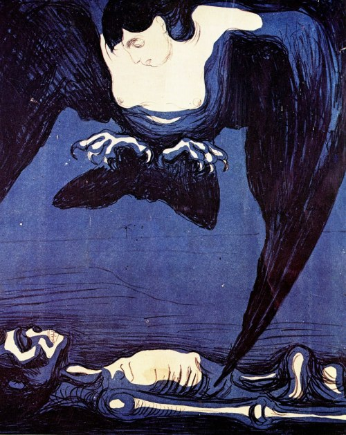 2headedsnake:  Edvard Munch The Vampire, 1894