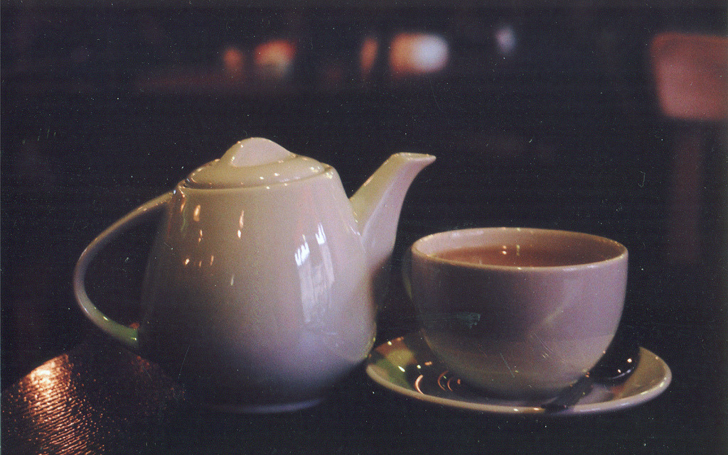 My fav tea, milk oolong by remizova