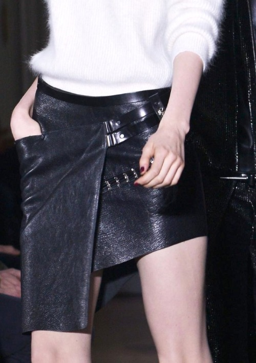 cousue:  Anthony Vaccarello fall 2013