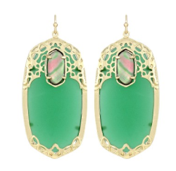 deva earrings in malibu: now available! {ks}