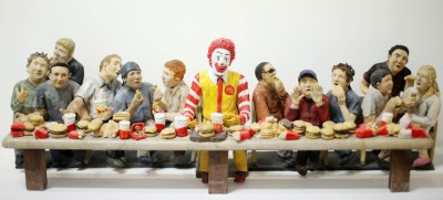 The Gluttony of the Last Supper by Gillian Joyce