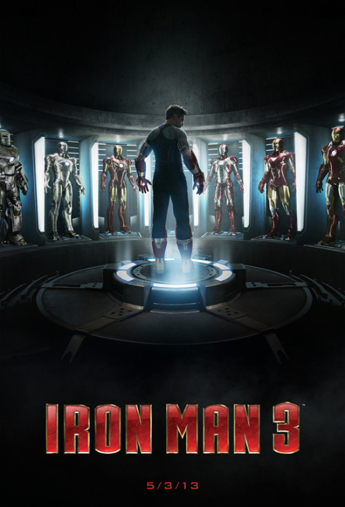 "marvelentertainment:  Celebrate Marvel's Iron Man 3 with the ""Iron Man Tech Presented by Stark Industries"" exhibit at Innoventions at Disneyland park in California beginning April 13! Visit Iron Man's Hall of Armor and virtually suit up yourself in the special exhibit!"
