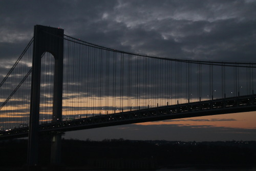 NYC, Verrazano Bridge.