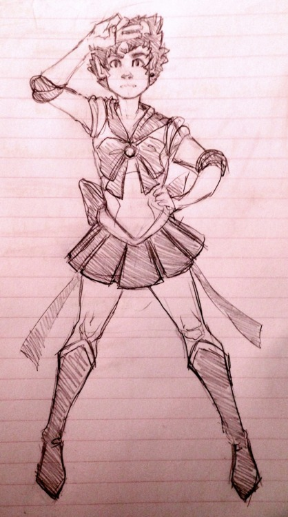 yoccu:  so today I drew karkat as a sailor scout and that's kinda all there is to say on the matter
