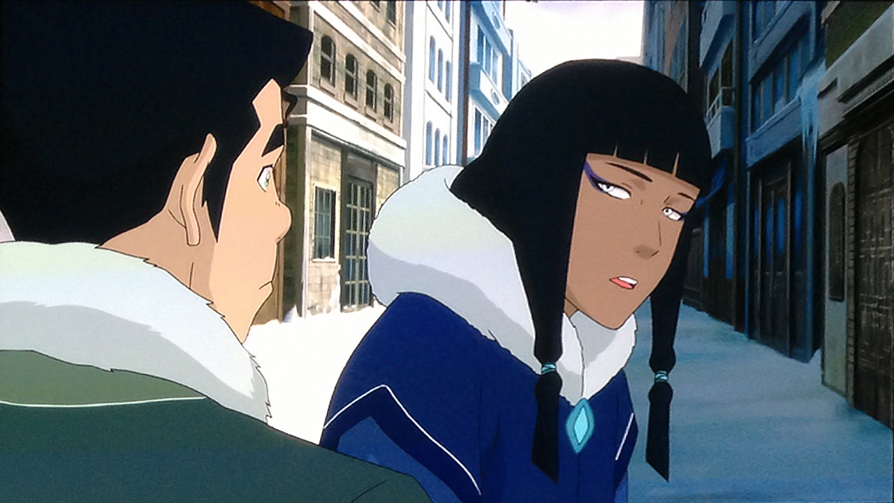 baelor:  The second official screencap from The Legend of Korra book 2!