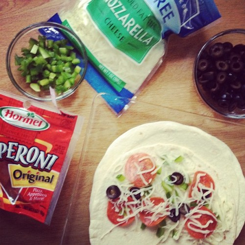 Pizza quesadilla, anyone?