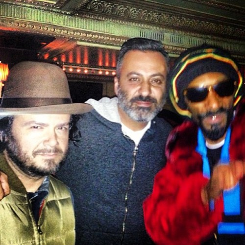 No Big Deal.. Just @cqsmile, @mazdackrassi, n' Snoop.. JANE HOTEL TUESDAYS ReeeeeeeeeeeeePossssssssssssssssst!  (at The Jane Hotel Ballroom)