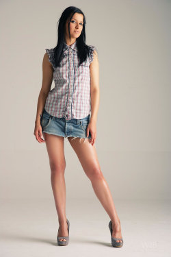 Bon denim mini skirt