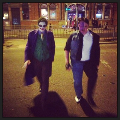 #joker and #twoface walking the streets…