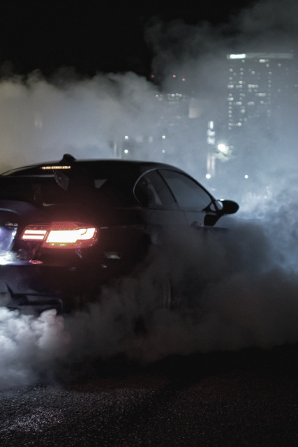 d0minus:  Carrozzeria Carbon BMW M3 Burnout // JSitthi