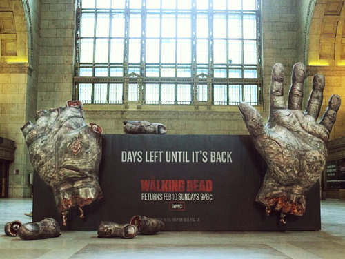 nevver:  Every day, a finger gets hacked off.  Everyday. #walkingdead