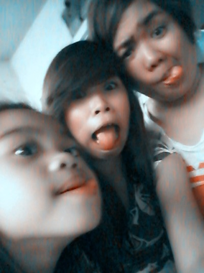 Our natural faces! Haha :D #Bonding