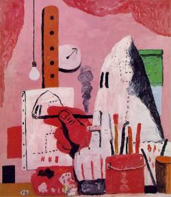 impartart:  Philip Guston, The Studio, c. 1969