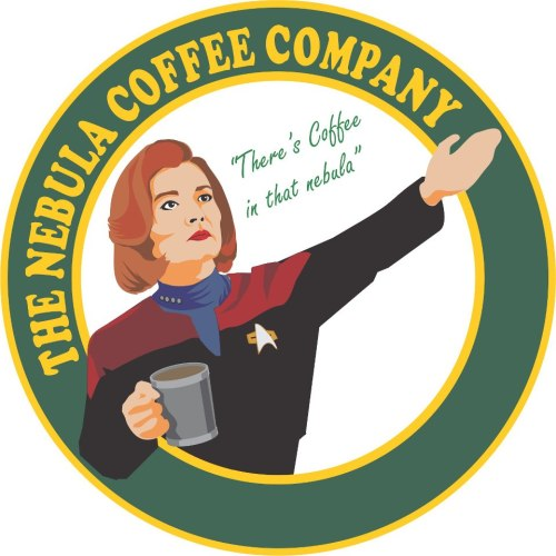 "The Nebula Coffee Company.""There's Coffee in that nebula!"""