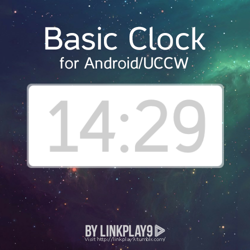 Basic Clock for Android/UCCW