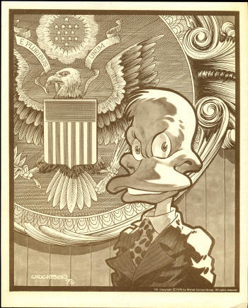 howard the duck for president