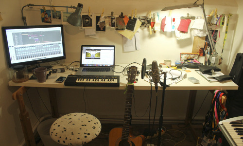 HOME STUDIO Working on a new album