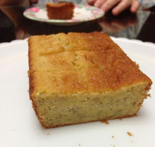 Ugly Cake News: Bananarama! Still experimenting with Big Bowl Banana Cake but 2 and a half loaves were gone in a jiffy! #Singapore #Cake