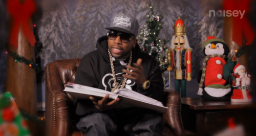 (Watch Big Boi read 'How the Grinch Stole Christmas!') Noisey got Big Boi read read the Dr. Seuss classic How the Grinch Stole Christmas! ….the whole thing. Watch Here