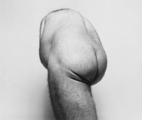 cavetocanvas:  John Coplans, Back Torso From Below, 1985