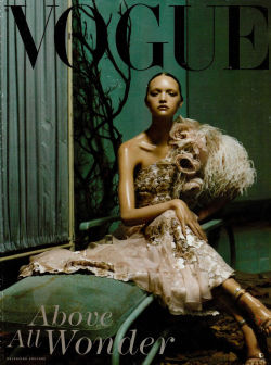 thefashionatelier:  Gemma Ward photographed by Steven Meisel for Vogue Italy March 2004