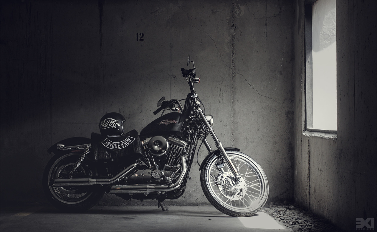 New shot of my bike I snapped today in the garage. This may be my best model for photos! No complaining, and looks good from any angle!