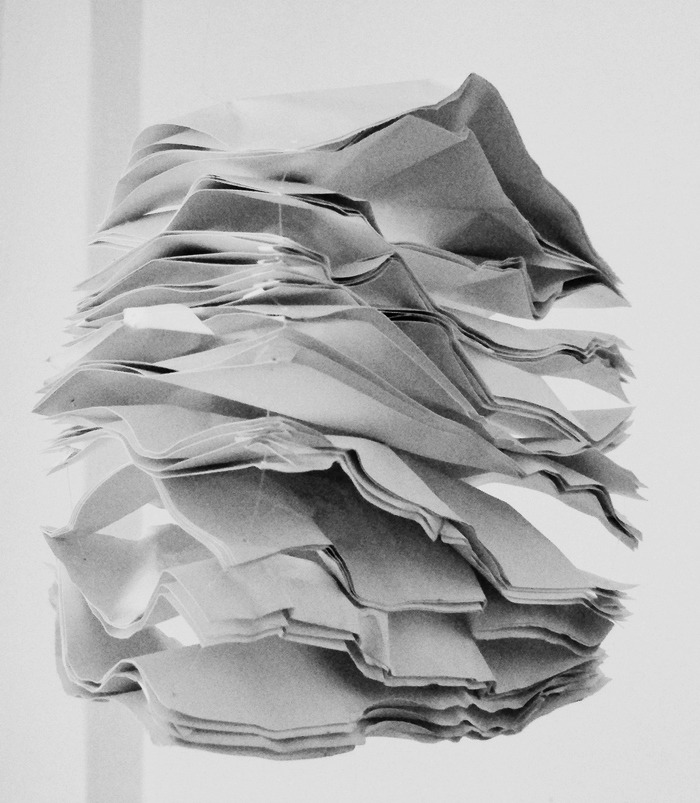 efedra:  Landscape Shapes (Paper Work), 2007 by Martin Böttger