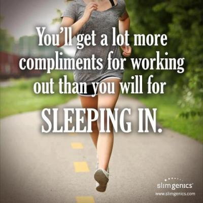 Have you worked out already today?