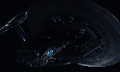 Star Trek: Into Darkness  –  USS Vengeance Dreadnought-class ship © CBS Studios Inc./Paramount Pictures Corp.