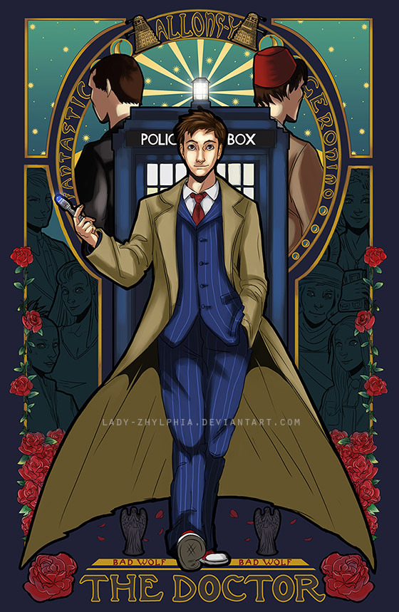 mikemontfort:  +Doctor Who+ by ~Lady-Zhylphia