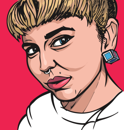 willprinceart:  @LiliKjazz POP ART