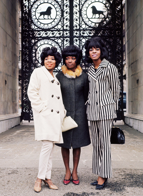 vintagegal:  Martha and the Vandellas in London, 1966