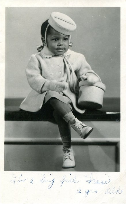 LIL' MISS SWEET THANG! | 1950s via Black History Album, The Way We WereFollow us on TUMBLR  PINTEREST  FACEBOOK  TWITTER