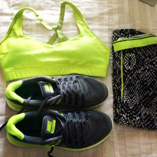 fitness-barbie:  fre—ssh:  Running gear!