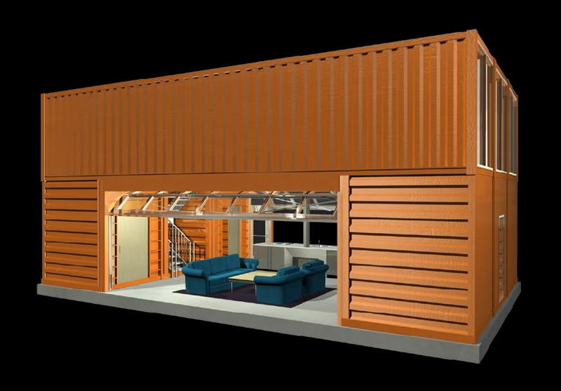 shipping container house the of inertia 11625