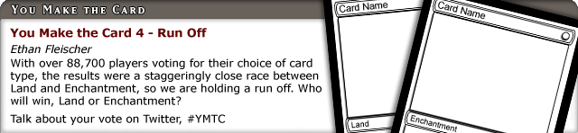 Card Type Runoff! Land or Enchantment? #ymtc