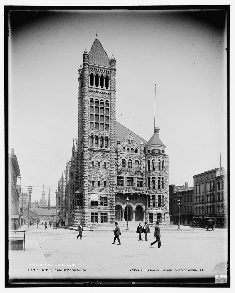 The City Hall, Syracuse, New York