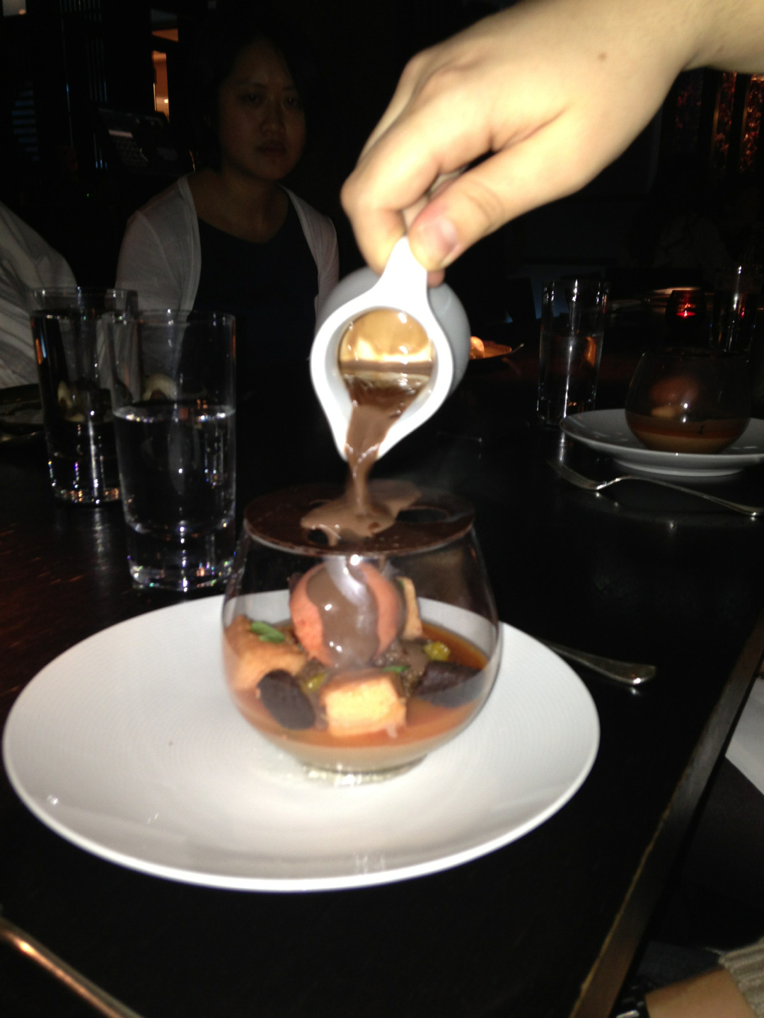 Dessert @ Hakkasan London