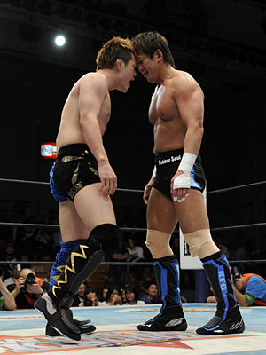 "[Michinoku Pro News] Michinoku announced the next defense for Fujita ""Jr"" Hayato and the Tohoku Jr. belt as he will be defending against his long time rival in Koji Kanemoto on June 9th. These two have met each other in very physical matches in the past, more specifically during the best of the Super Jr. (BOSJ) tournaments a few years ago in NJPW. Hayato has been looking to face against his stronger rivals during his current title reign (with current wins over Sasuke, Nakajima, Ikuto Hidaka), and looks to rekindle the heat between him in Kanemoto in what is sure to be nothing more than a physical and hard hitting match.Also announced is Minamino's return from injury and the Tohoku Tag belts on the line as Ultimi Dragon and Kesennuma Jirolamo defend against Jinsei Shinzaki and Super Delfin.Below is the announced card as it stands right now.Michinoku Pro Wrestling ""Michinoku Pro Wrestling 20th Anniversary Year, Tokyo Show"", 6/9/2013 [Sun] 12:00 @ Korakuen Hall in Tokyo(-) Takeshi Minamino Return Match: Takeshi Minamino, ManjiMaru,  Ken45° & Daichi Sasaki vs. Kenou, Shu Brahman, Kei Brahman & Taro Nohashi(-) Tohoku Tag Championship Match: [18th Champions] Ultimo Dragon & Kesennuma Jirolamo vs. [Challengers] Jinsei Shinzaki & Super Delfin(-) Tohoku Junior Heavyweight Championship Match: [16th Champion] Fujita ""Jr"" Hayato vs. [Challenger] Koji Kanemoto~ 4th title defense.~ 3 more matches are to be scheduled with Shisao, Benham Ali, and Menso~re Oyaji also announced to be competing on the show."